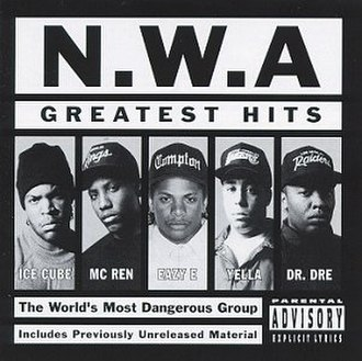 Greatest Hits (N.W.A album) - Image: NWA Greatest Hits