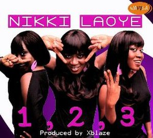 123 (Nikki Laoye song) - Image: Nikki Laoye 123 Official Single Cover