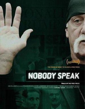 Nobody Speak: Trials of the Free Press - Image: Nobody Speak Trials of the Free Press