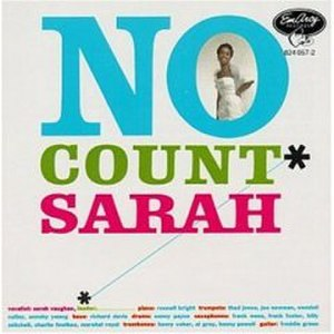 No Count Sarah - Image: Nocountsarah