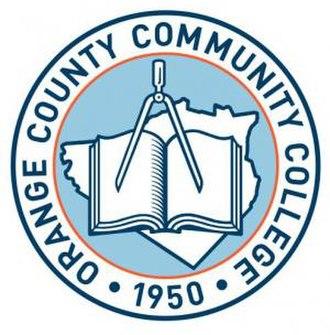 SUNY Orange - Image: Orange County Community College seal
