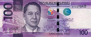 Philippine one hundred peso note