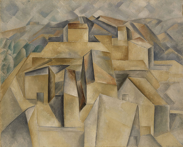 File:Pablo Picasso, 1909, Maisons à Horta (Houses on the Hill, Horta de Ebro), oil on canvas, 65 x 81 cm, private collection.jpg