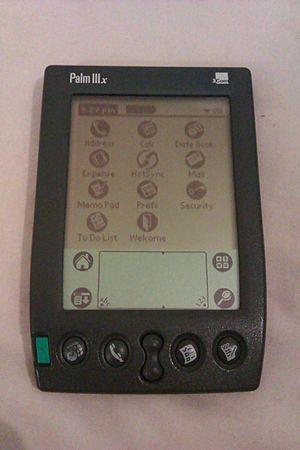 Palm IIIx - Palm IIIx PDA