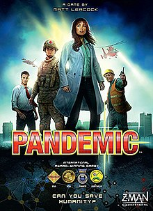 The box cover for the 2nd edition of Pandemic