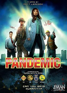 <i>Pandemic</i> (board game) Cooperative board game