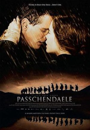 Passchendaele (film) - Theatrical release poster