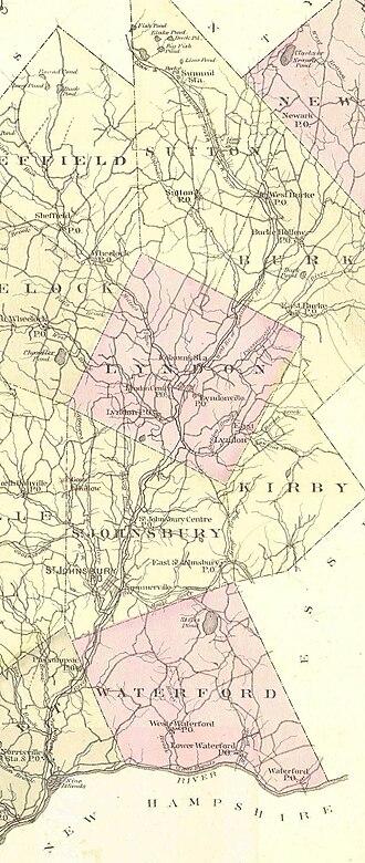 Passumpsic River - The Passumpsic River in 1875