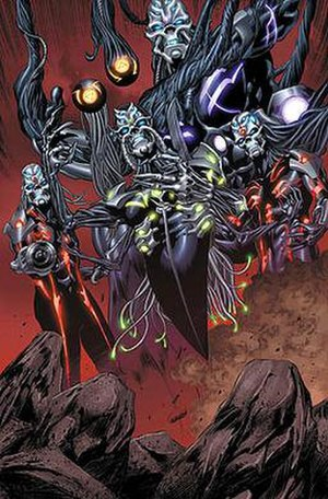 Phalanx (comics) - The Phalanx. Art by Mike Perkins.