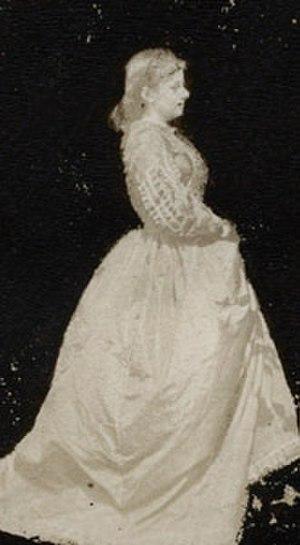Mary Ellen Edwards - Mary Ellen Edwards, circa 1863