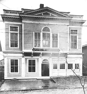 Frederick J. Amsden - Image: Plymouth PA Town Hall 1918