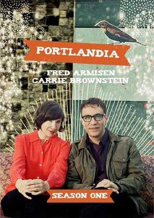 Portlandia (season 1) - DVD cover