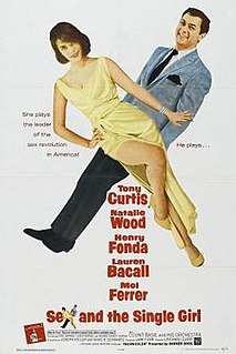 <i>Sex and the Single Girl</i> (film) 1964 film by Richard Quine