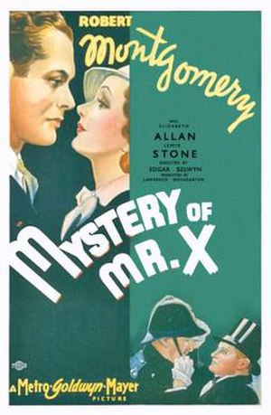 The Mystery of Mr. X - Image: Poster of the movie The Mystery of Mr. X