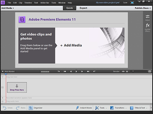 Premiere Elements offers powerful, entry-level video editing