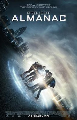 Project Almanac - Theatrical release poster