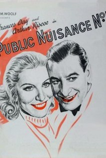 <i>Public Nuisance No. 1</i> 1936 film by Marcel Varnel