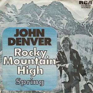 Music of Colorado - John Denver in 1972