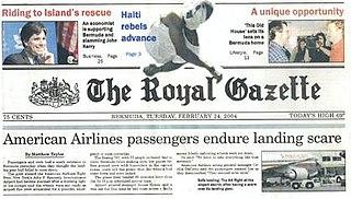 <i>The Royal Gazette</i> (Bermuda)