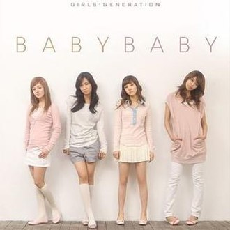 Baby Baby (Girls' Generation song) - Image: SNSD Baby Baby Repackage 1