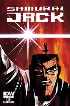 Samurai jack comics cover