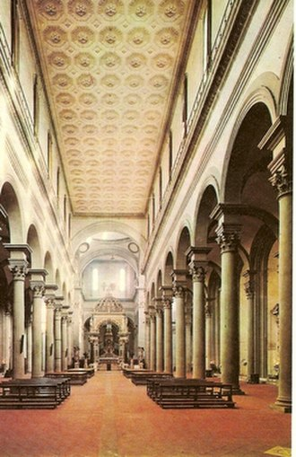Santo Spirito, Florence - Interior of the basilica