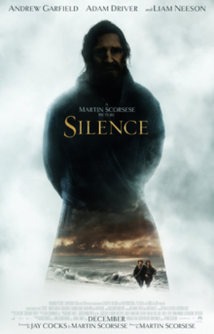 Silence (2016 film) - Theatrical release poster