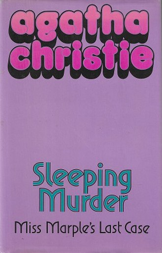 Sleeping Murder - Dust-jacket illustration of the first UK edition