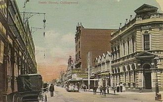 Collingwood, Victoria - Smith Street Collingwood in 1907