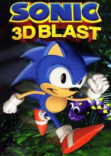 <i>Sonic 3D Blast</i> 1996 isometric platform video game