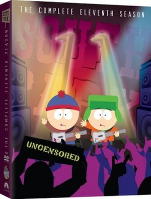 South Park (season 11) - DVD cover