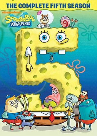 SpongeBob SquarePants (season 5) - DVD cover