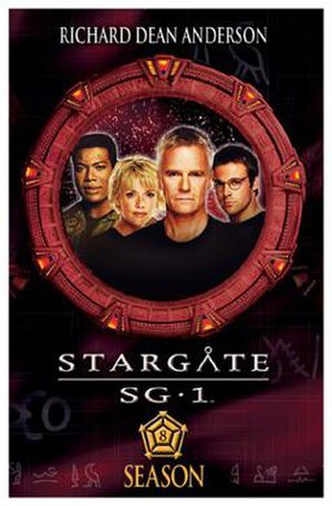 Stargate SG-1 (season 8) - DVD cover
