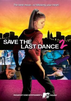 Save the Last Dance 2 - DVD cover