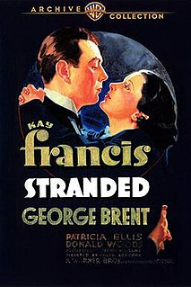 <i>Stranded</i> (1935 film) 1935 American drama film directed by Frank Borzage