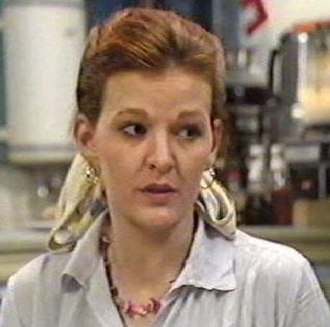 Sue Osman - Sue as she appeared in 1985.