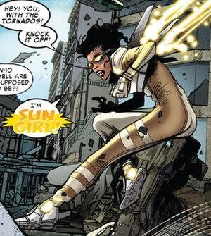 Sun Girl (Marvel Comics) - Image: Sun Girl Superior Spider man Team Up 6