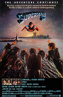 <i>Superman II</i> 1980 superhero film