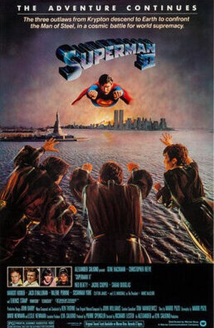 Superman II - North American teaser poster