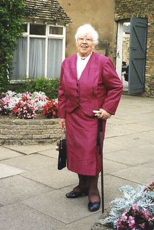 Sybil Marshall - Sybil Marshall on her wedding day in 1995 aged 82