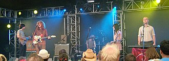 The Strange Death of Liberal England (band) - Playing live at the Summer Sundae festival, 2007