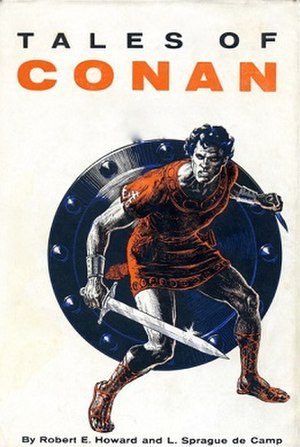 Cover of Tales of Conan (Gnome Press, 1955). A...