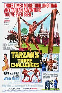 <i>Tarzans Three Challenges</i> 1963 film by Robert Day