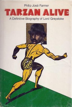 Tarzan Alive: A Definitive Biography of Lord Greystoke - Dust cover of the first edition