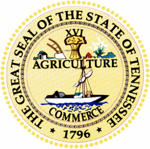 Seal of Tennessee - Image: Tennesseestateseallr g
