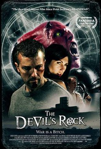 The Devil's Rock - New Zealand theatrical release poster
