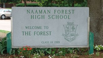 Naaman Forest High School - Image: The Forest NFHS