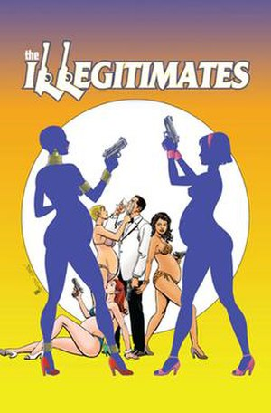 The Illegitimates - Image: The Illegitimates 1By Jerry Ordway