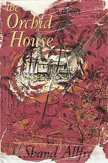 <i>The Orchid House</i> (novel) book by Phyllis Shand Allfrey