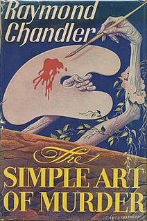 <i>The Simple Art of Murder</i> book by Raymond Chandler